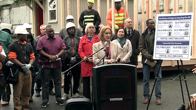 "Mayor Durkan proposes ""Building a Bridge to Housing for All"""