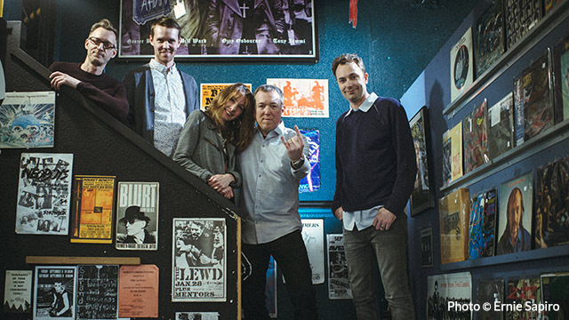 Art Zone: The Knights of Trash at Georgetown Records