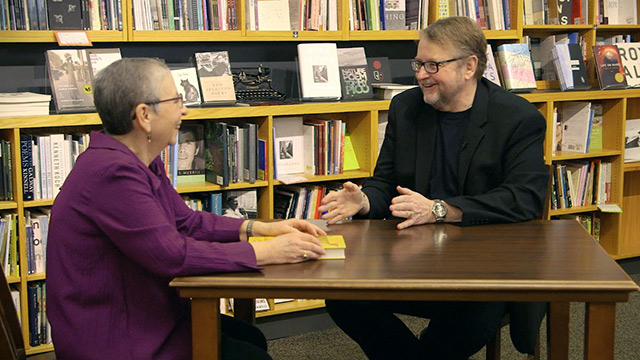 Book Lust with Nancy Pearl featuring Luis Urrea