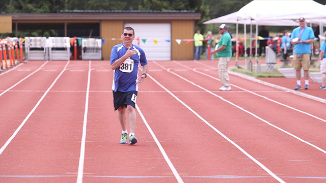 CityStream: Special Olympian Fred Ueltschi