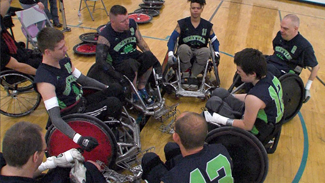 CityStream: Seattle Slam Wheelchair Rugby