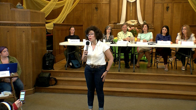 North Seattle Town Hall on Progressive Businesses Tax