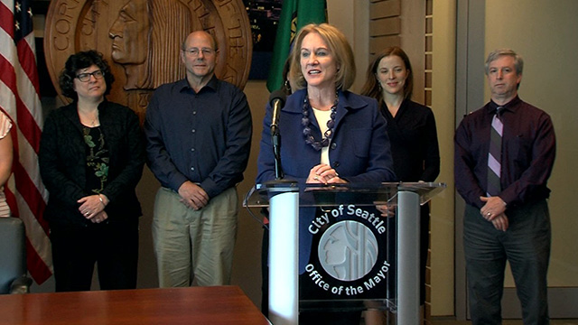 Mayor Durkan signs 2030 building efficiency legislation