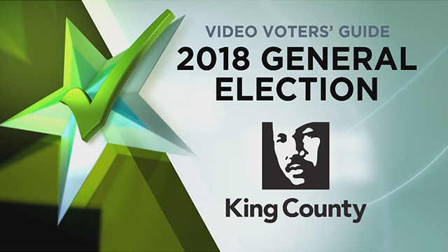Video Voters' Guide General Election 2018- King County