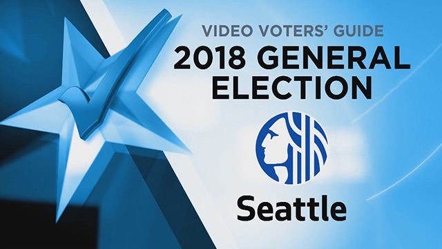 Video Voters' Guide General Election 2018- Seattle
