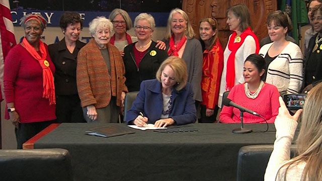 Durkan signs resolution backing new state firearm safety measures