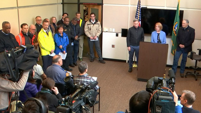 Mayor Durkan, Governor Inslee, Other City and Regional Leaders Give Update on Winter Weather