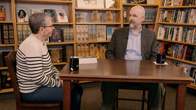 Book Lust with Nancy Pearl featuring Neal Stephenson
