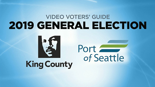 Video Voters' Guide General Election 2019 - King County & Port of Seattle