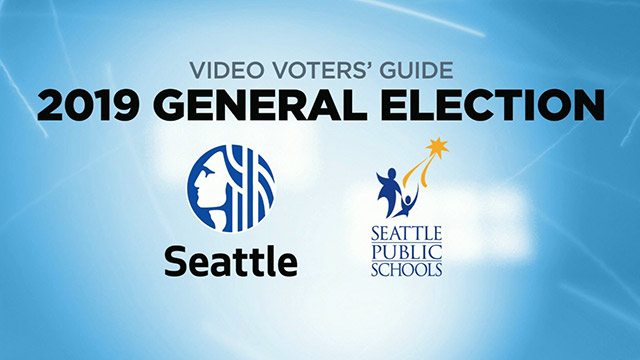 Video Voters' Guide General Election 2019 - City of Seattle & Seattle Public Schools