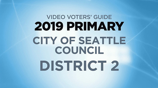 Candidates for City of Seattle, Council District 2