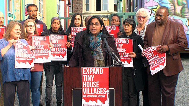 Councilmember Sawant & faith leaders advocate for more affordable housing