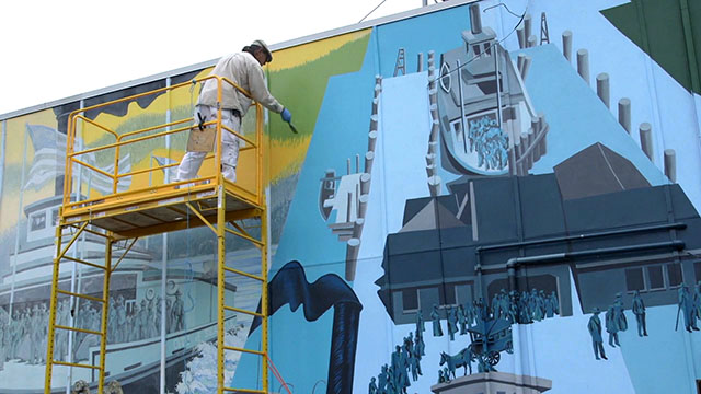 CityStream: Preserving History: West Seattle Murals