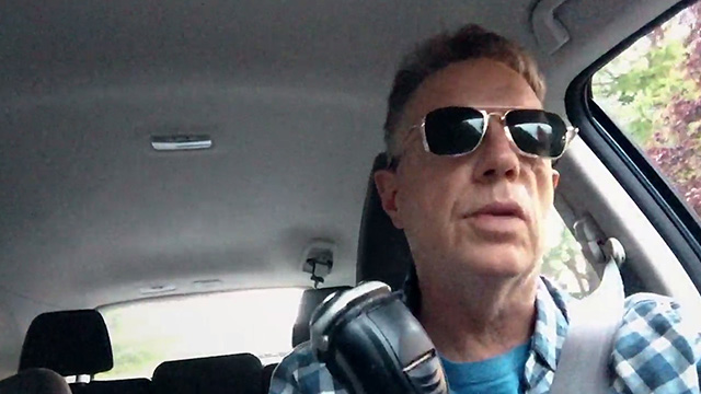 A multitasking video selfie from Charles R. Cross