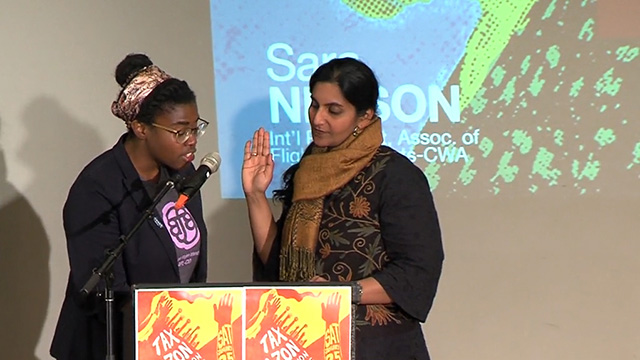 Councilmember Sawant Sworn into Office for Third Term