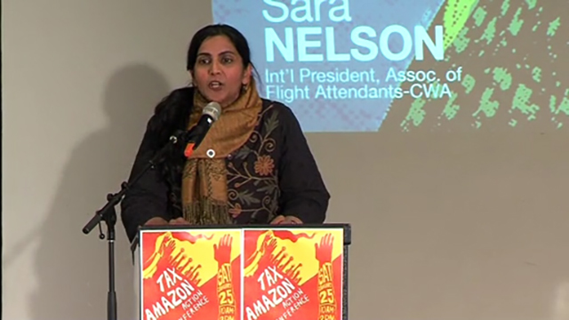 "Councilmember Sawant launches ""Tax Amazon"" campaign"