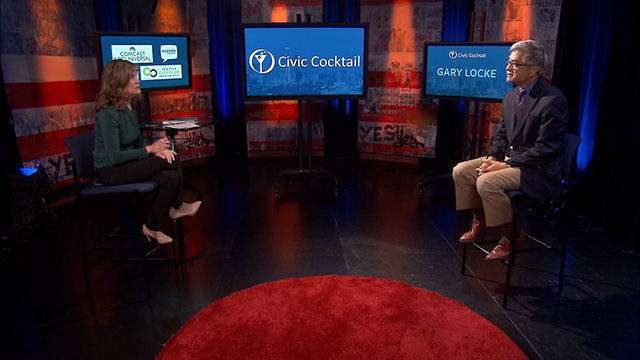 Civic Cocktail: Raquel Bono & Gary Locke