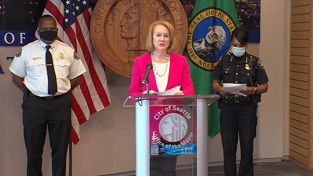 Mayor Durkan & officials speak on killing of George Floyd & planned weekend events