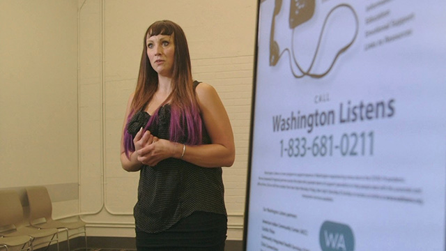 Washington Listens offers support during the pandemic
