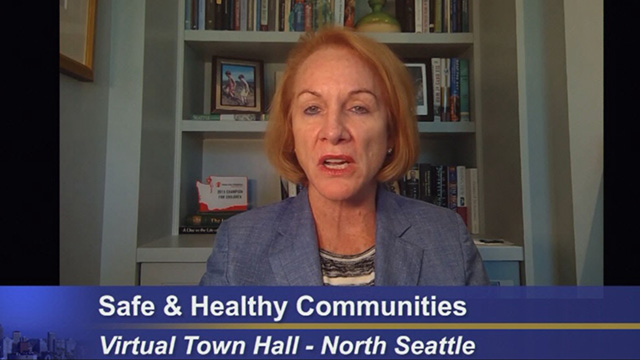 "Mayor hosts North Seattle ""Safe & Healthy Communities"" virtual town hall"