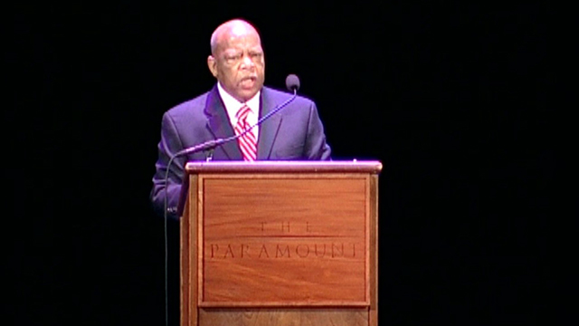 American Podium: Marching to the Dream - Rep. John Lewis
