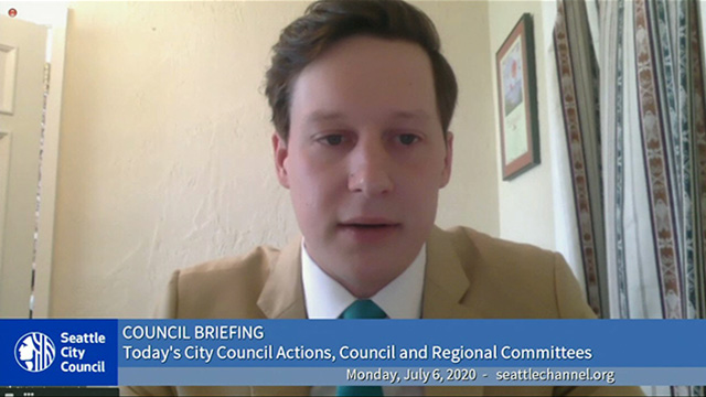 Council Briefing 7/6/20