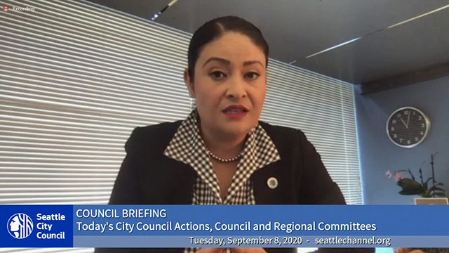 Council Briefing 9/8/20