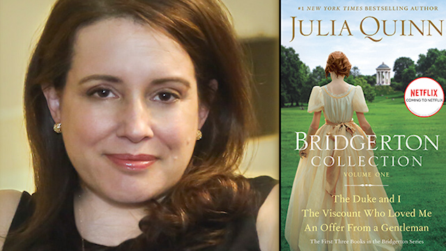 Art Zone: Author Julia Quinn