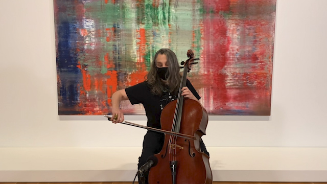 Art Zone: Cellist Lori Goldston
