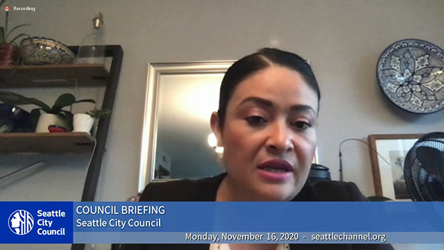 Council Briefing 11/16/20