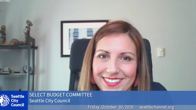 Select Budget Committee Session I 10/30/20