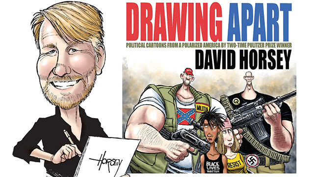 Political cartoonist David Horsey