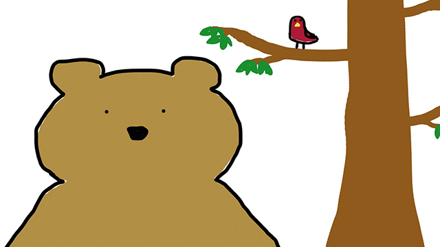 Art Zone: Barry the Bearable Bear is lost