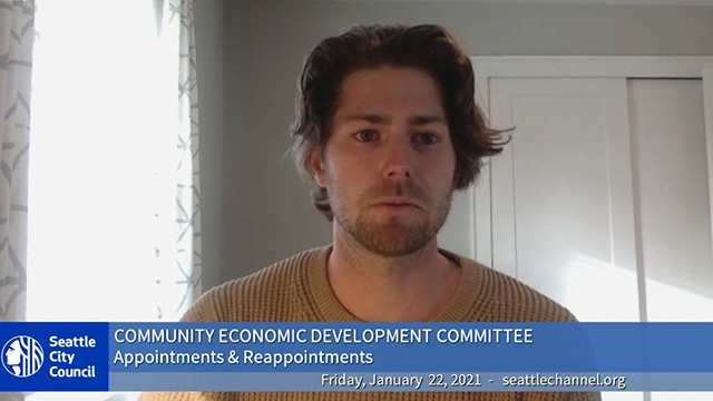 Community Economic Development Committee 1/22/21