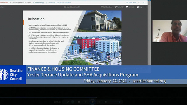 Finance & Housing Committee 1/22/21