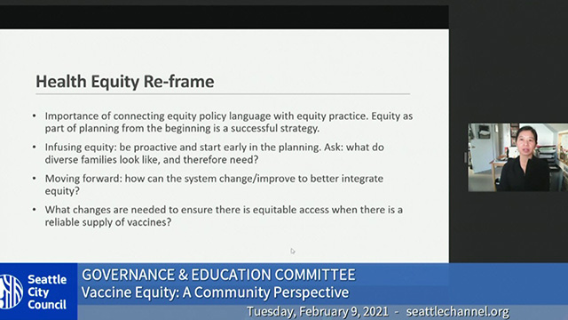Governance and Education Committee 2/9/21