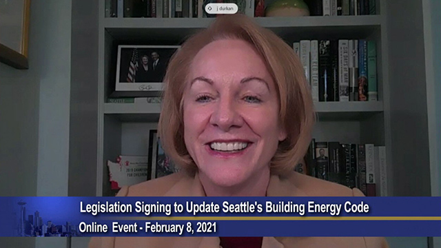 Mayor Durkan signs legislation updating Seattle's building energy code