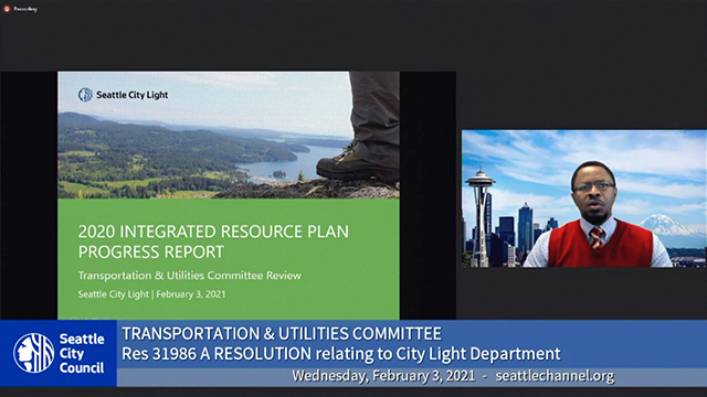 Transportation & Utilities Committee 2/3/21