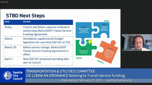 Transportation & Utilities Committee 2/17/21