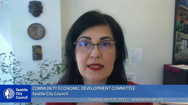 Community Economic Development Committee 4/20/21