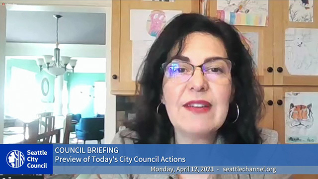 Council Briefing 4/12/21